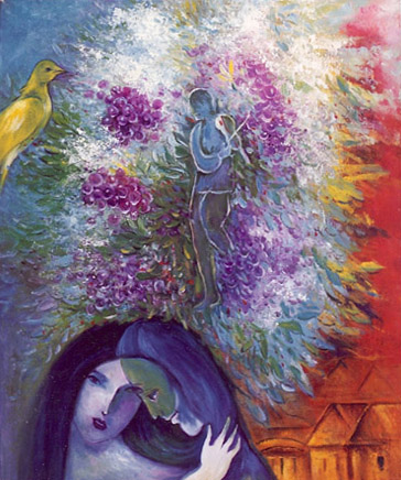 Marc Chagall A Garden Of Color